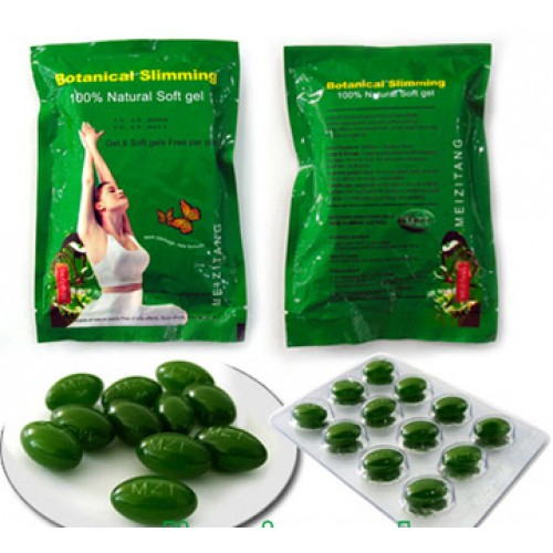 100% Real Meizitang Botanical Slimming Soft Gel